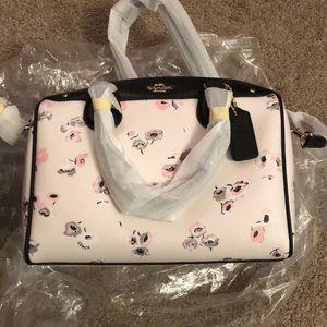 Coach wildflower mini Bennett bag